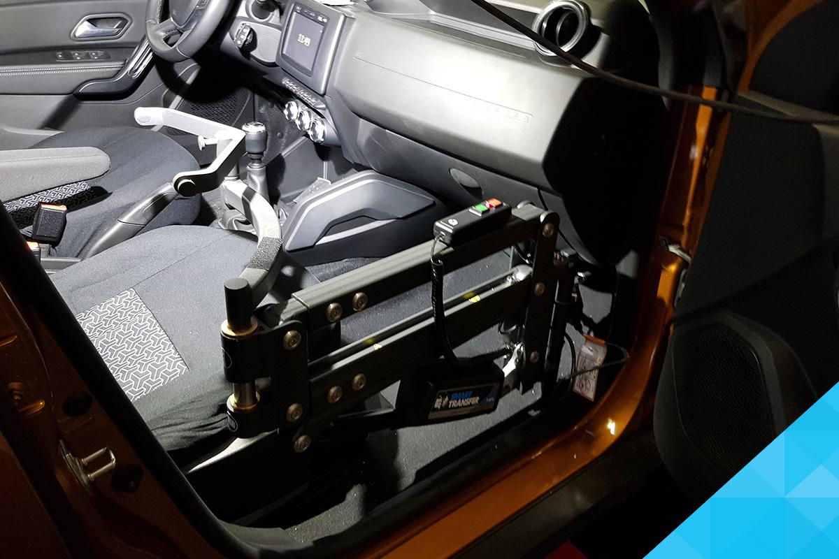 Bezbariérová vozidlo pre imobilných